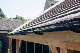 Home gutter cleaning