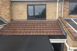 New roof on domestic property